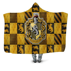 Houses Hooded Blanket - TAIGS000
