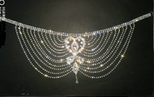 Load image into Gallery viewer, Crystal Rhinestone Chain Flapper Cap - TAIGS000