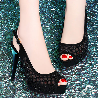 large gradient night club shoes - TAIGS000