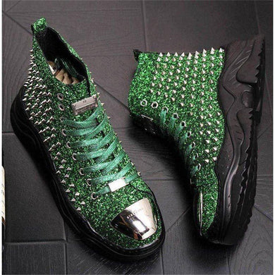 Riveted Mens Punk Boots