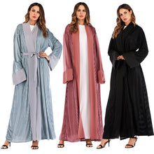 Load image into Gallery viewer, Velvet Winter Abaya Kaftan - TAIGS000