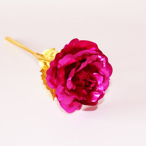 24K Foil Plated Gold Rose - TAIGS000