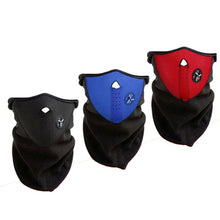 Load image into Gallery viewer, Warm Fleece Bike Half Face Mask - TAIGS000