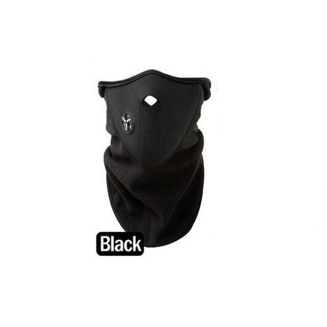 Warm Fleece Bike Half Face Mask - TAIGS000