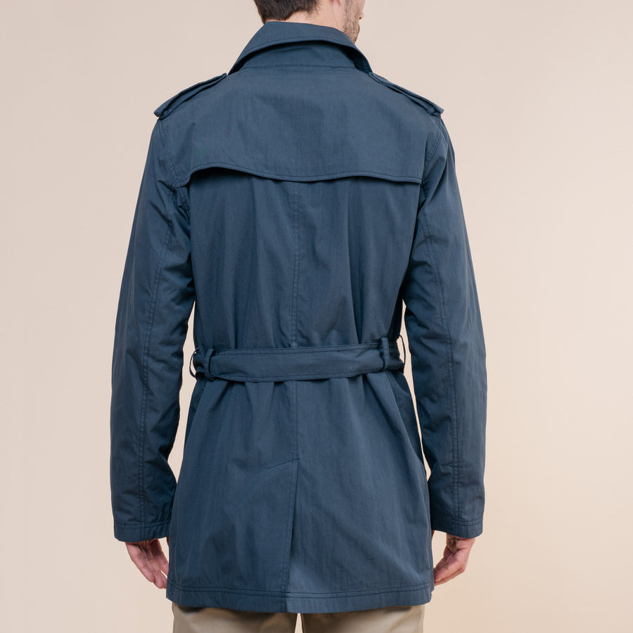 Entrenched Trench Jacket