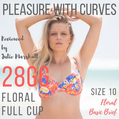 Pleasure with Curves reviews floral full cup