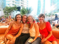 The girls at The Island Rooftop Bar Gold Coast