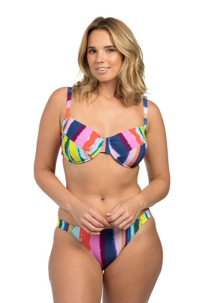 Rainbow Stripe Full Cup Full Cup Lilly & Lime