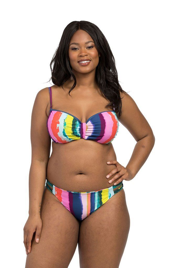Rainbow Stripe Bandeau