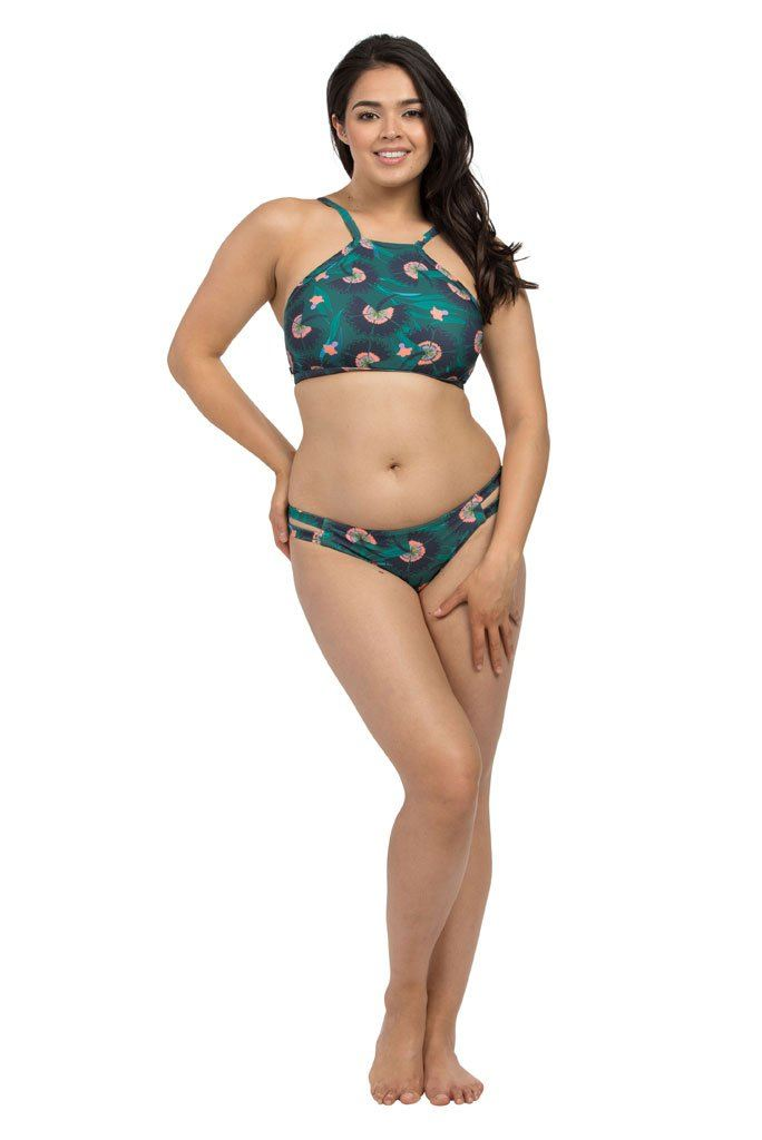 Kimono Forest Cut Out Brief Cut Out Brief Lilly & Lime