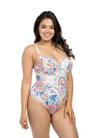 Suzani Stone Balconette One Piece