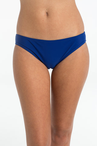 Azure Blue Basic Brief Bikini Bottoms