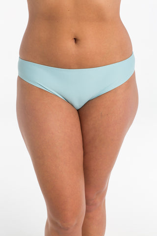 Sky Blue Basic Brief Bikini bottoms