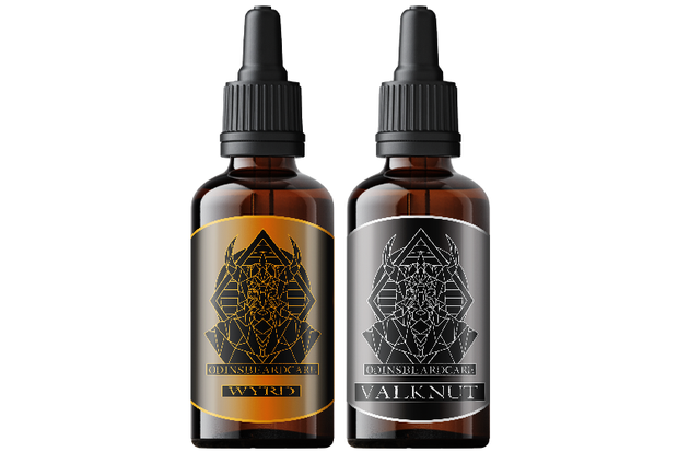 Limited Edition - Wyrd & Valknut Beard oils