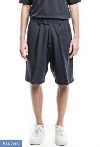 Wide Shorts - Merino Stretch Navy