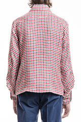 Original Jacket Shirt - Linen Check Red/Blue/White