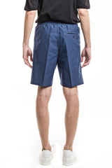Classic Elastic Shorts - Heavy Oxford Blue