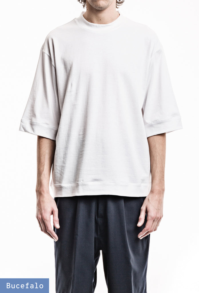Wide One T-Shirt - Jersey White
