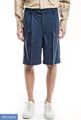 Wide Shorts - Merino Stretch Blue