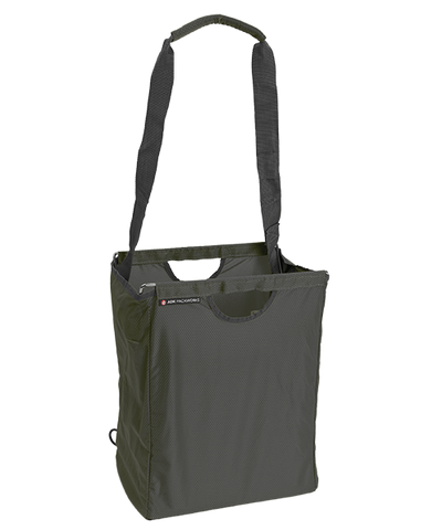 Charcoal Gray Packbasket w/ Shoulder Strap