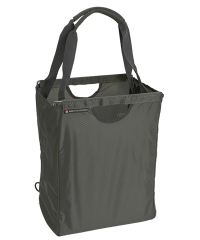 Charcoal Gray Packbasket w/ Tote Handles