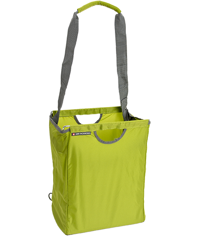 Green Packbasket w/ shoulder strap