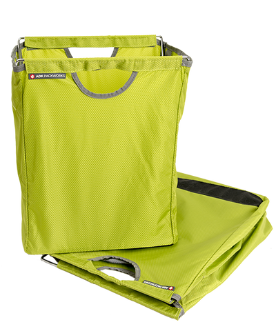 Green Packbasket w/ folded