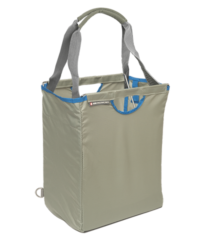 Light Gray Packbasket w/ tote straps
