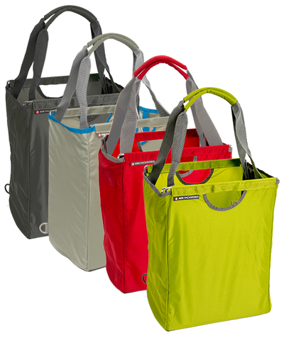 Green, Red, Light Gray, Charcoal Gray Packbasket's