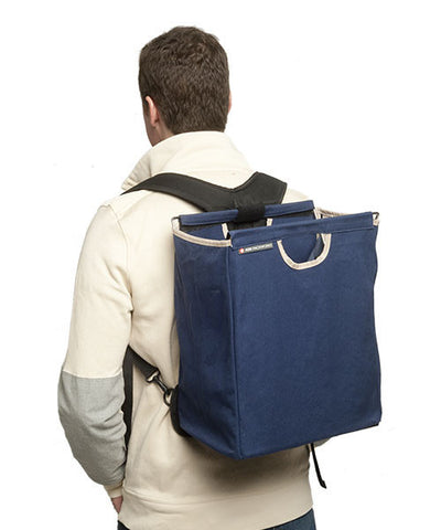 Blue Canvas Backpack Bundle