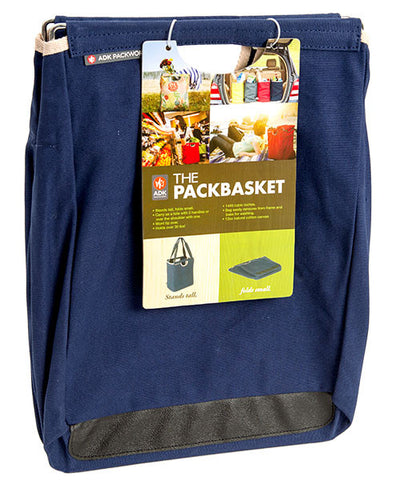 Blue Canvas Packbasket