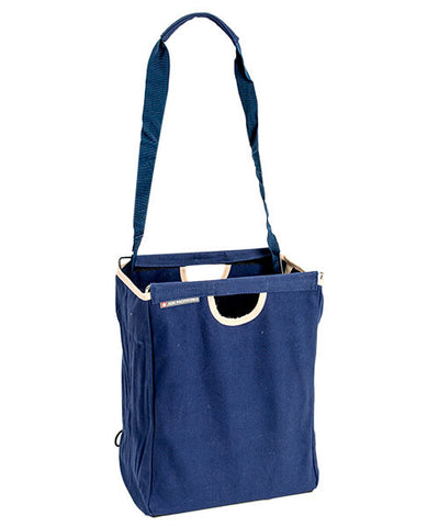 Blue Canvas Packbasket w/ Strap