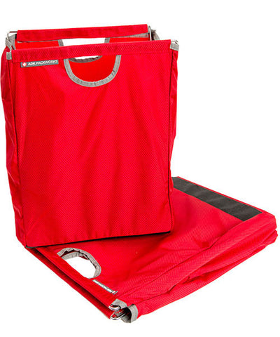 Red Packbasket Folded