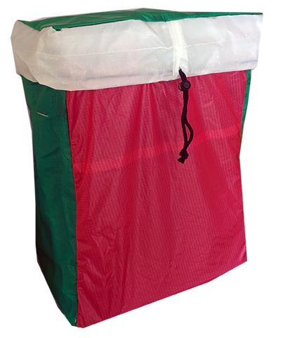 Spinnaker Bag red and green