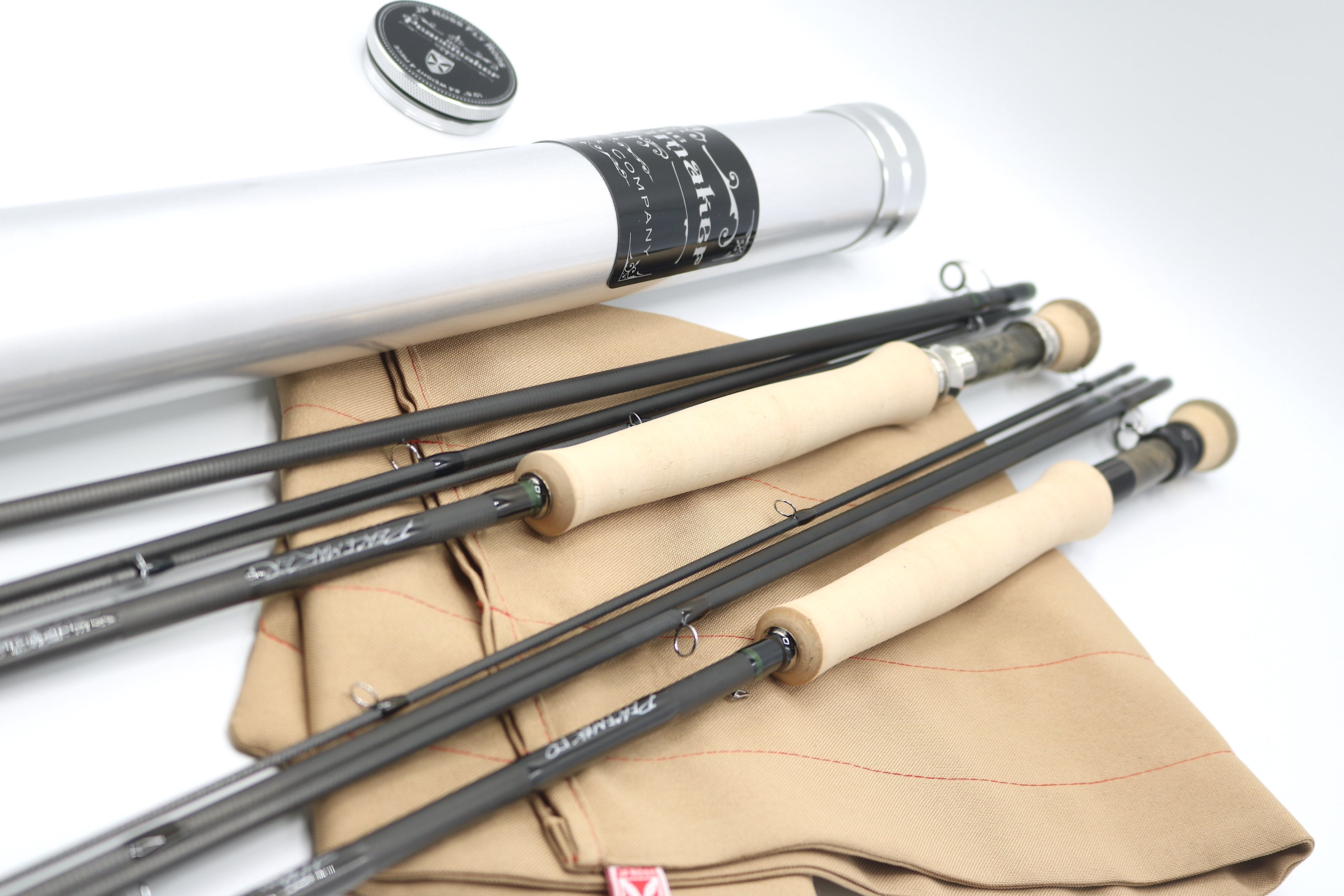 "The Peacemaker 10'6"" #4 weight 4 piece Rod and Blank"