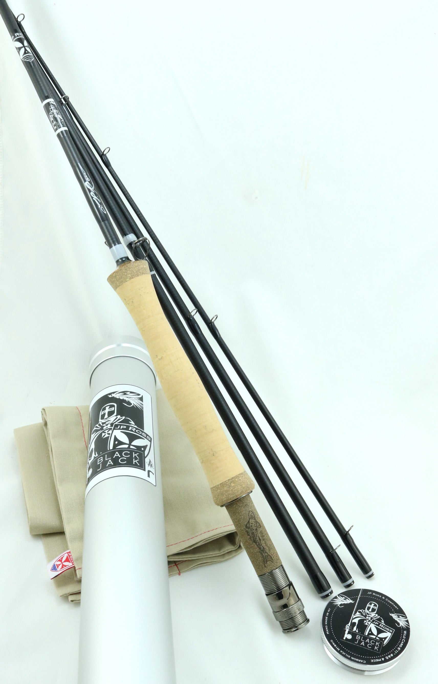 "Wild Card 6'11"" #4-5 weight 4 piece Carbon Glass"