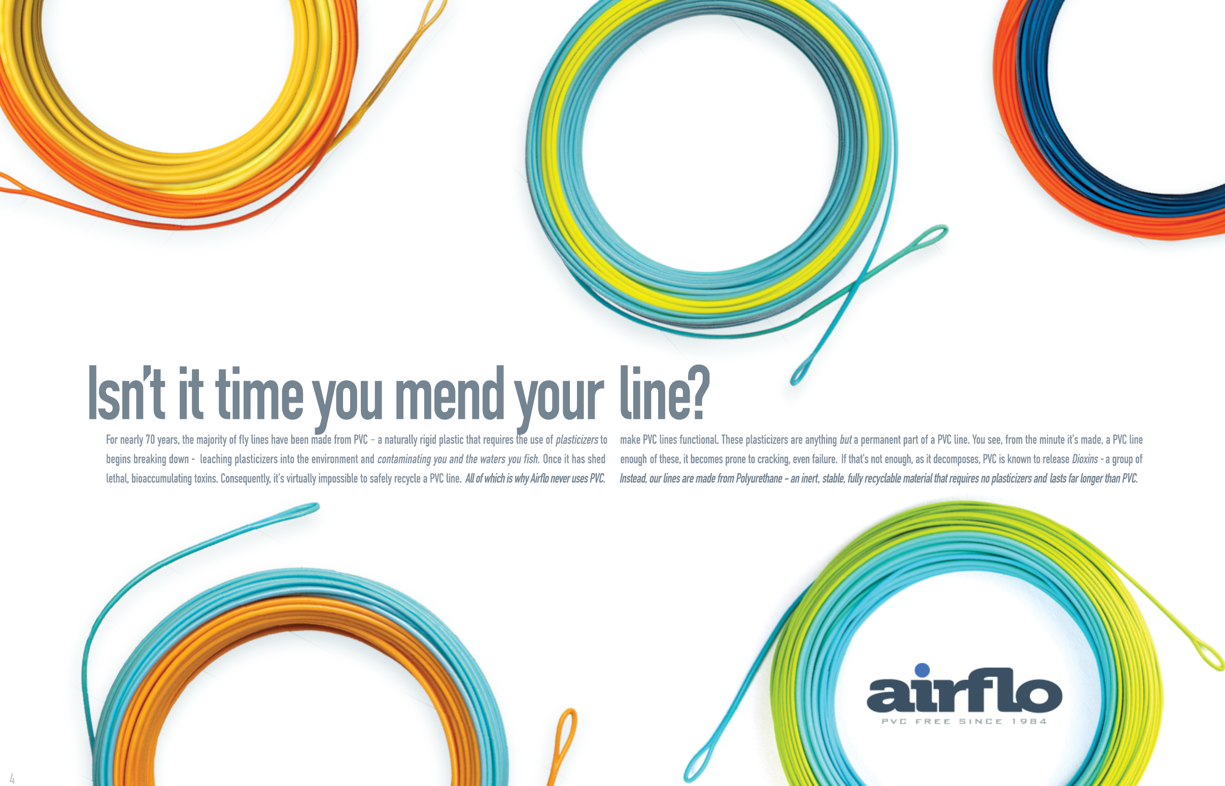 Airflo Universal Taper Fly Line with free polyleader