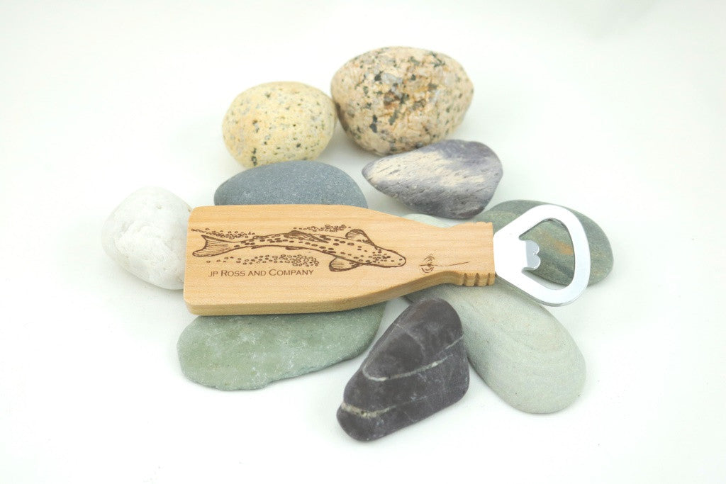 JP Ross Zen Trout Magnetic Bottle opener in Maple