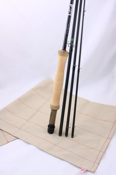 "Black Jack Wild Card 6'11"" #4-5 weight 4 piece Carbon Glass Hybrid"