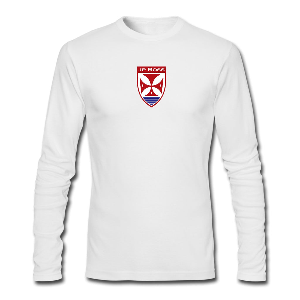 Big Foot Long sleeve white tee shirt