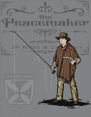 "Open image in slideshow, The Peacemaker 10'6"" #4 weight 4 piece Rod and Blank"