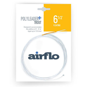 Open image in slideshow, airflo polyleader PLUS 6.5 foot and 8.5 foot with tippet ring