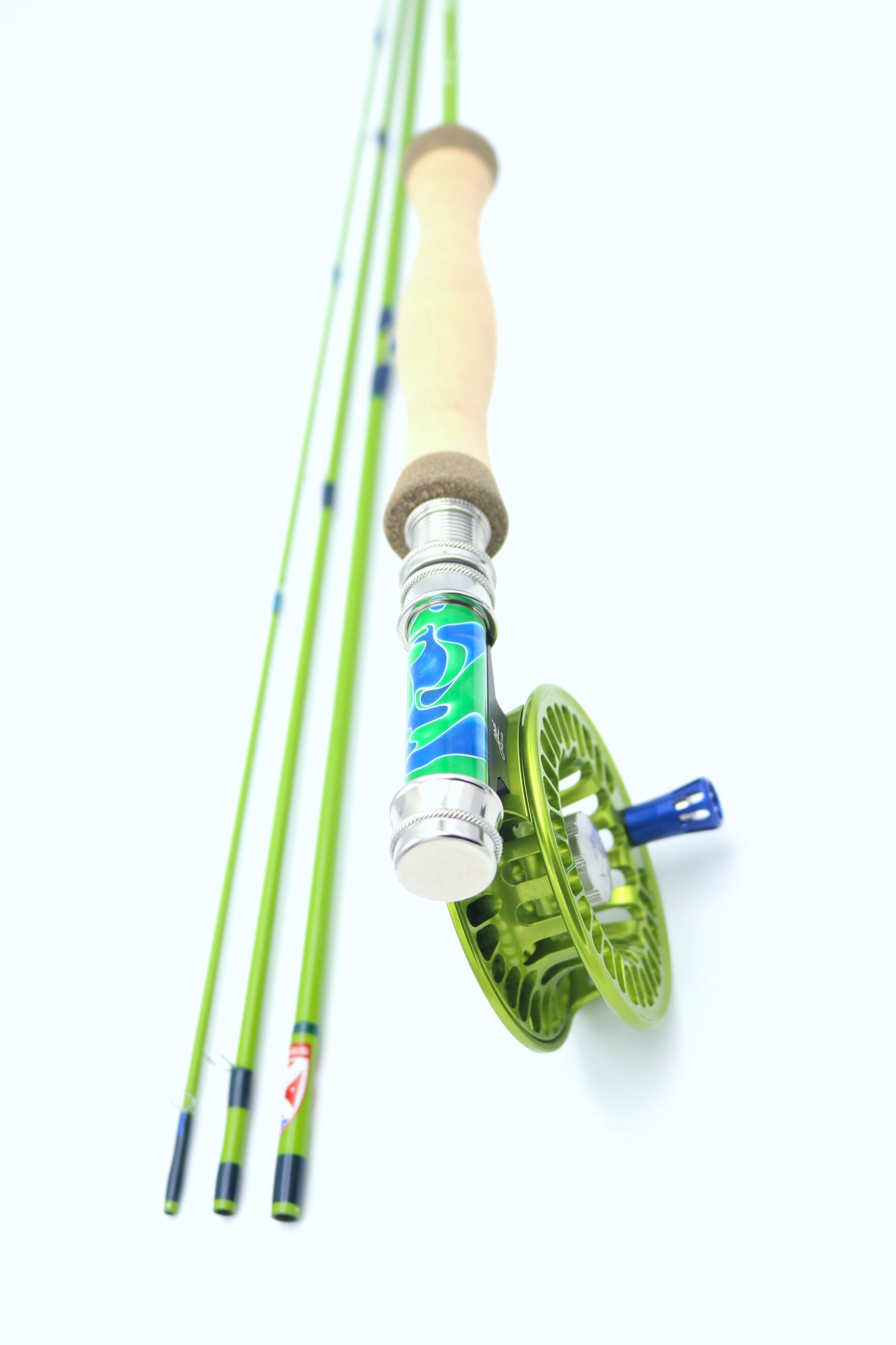 "sub-line green beaver meadow 6'6"" #3weight  4 piece"