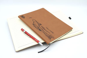 Open image in slideshow, Zen Trout Adventure notebook logbook with pen