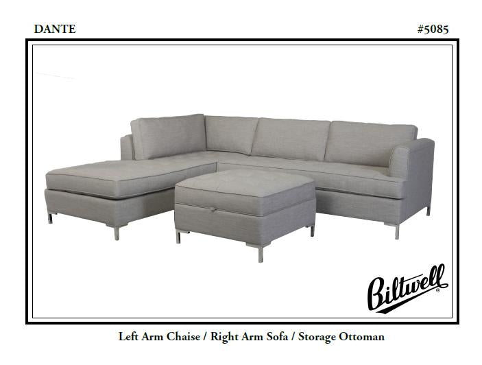 Biltwell Dante Sectional