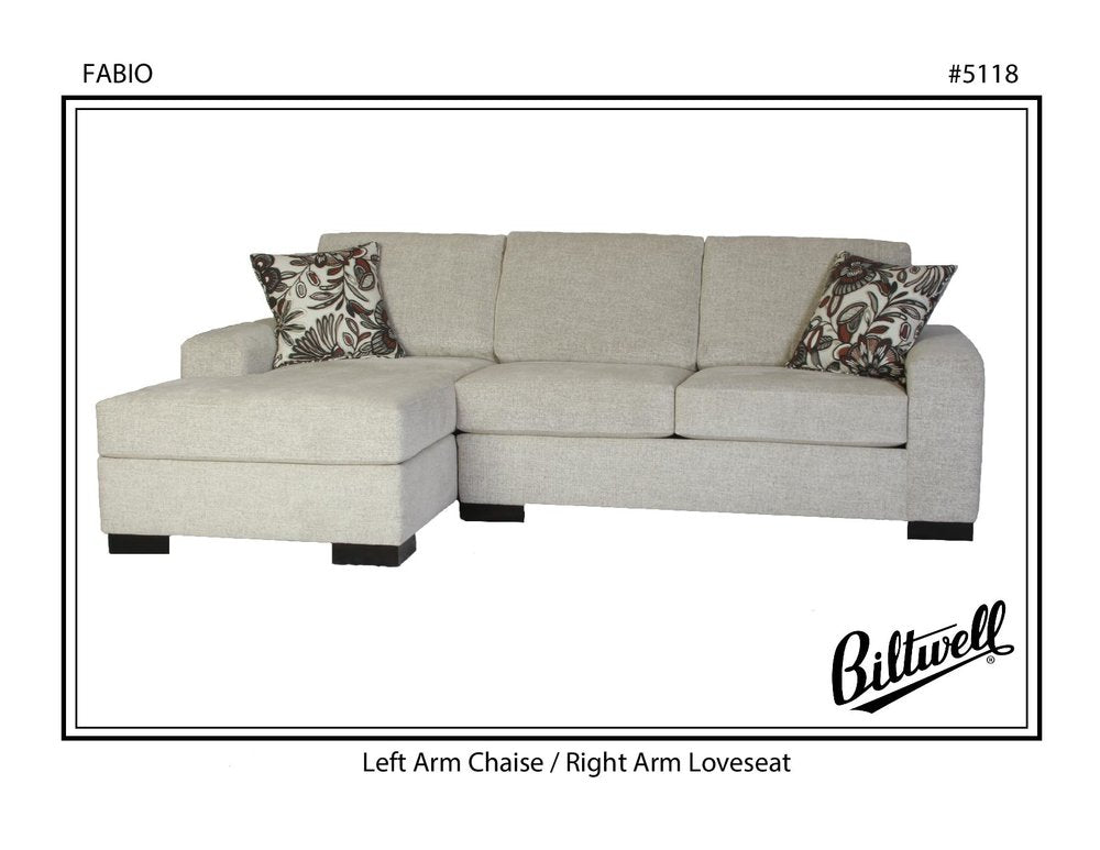 Biltwell Fabio Sectional