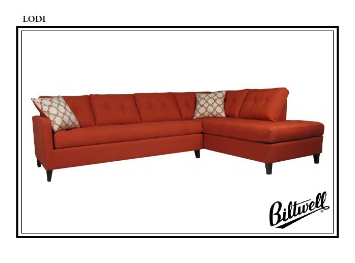 Biltwell Lodi Sectional