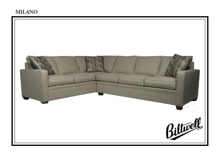 Biltwell Milano Sectional