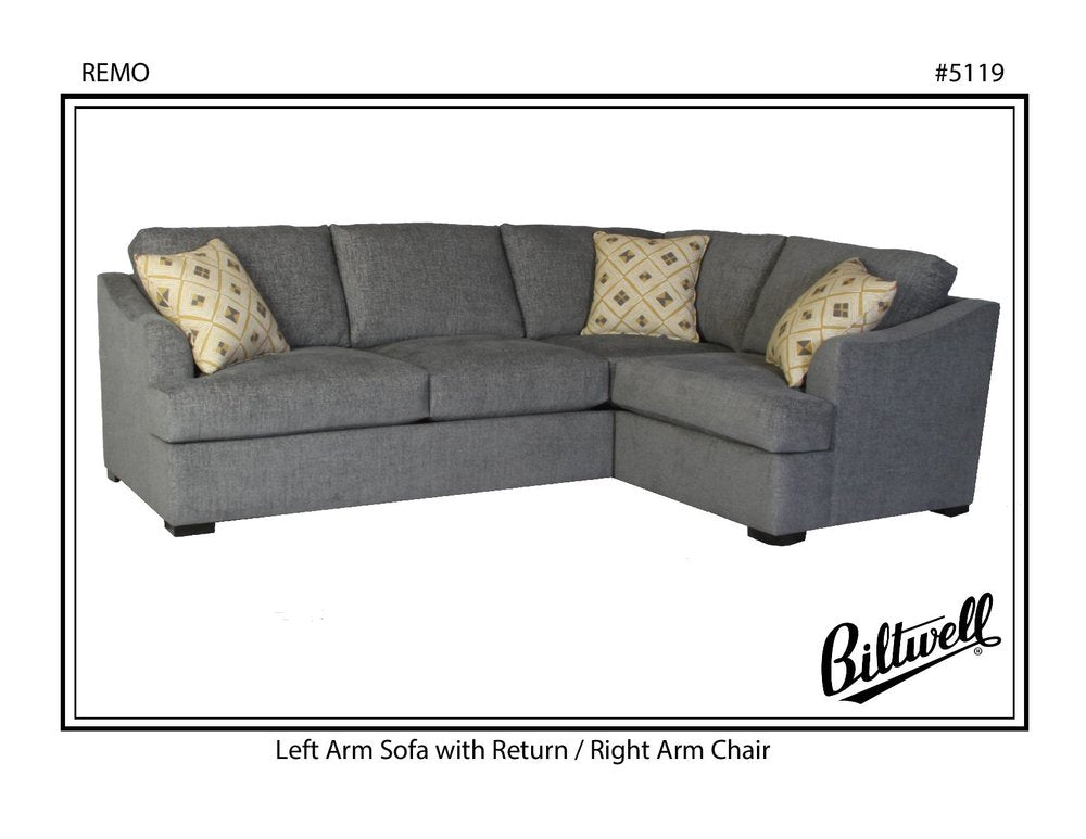 Biltwell Remo Sectional