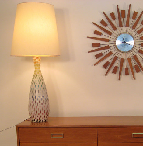 Stig Lindberg Pottery Table  Lamp